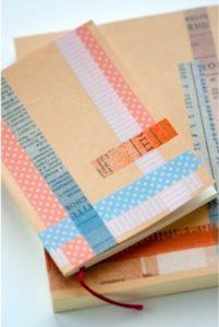 クラフト紙のノート