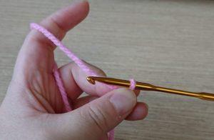 かぎ針編みの作り目の作り方